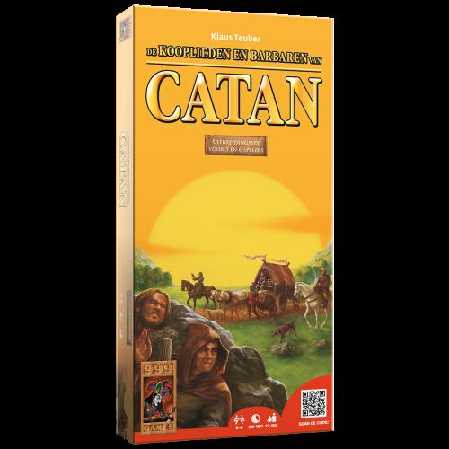 De koopliederen en barbaren van Catan uitbreiding 5 - 6 spelers